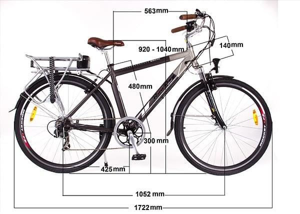 Tourer Bike Measurements