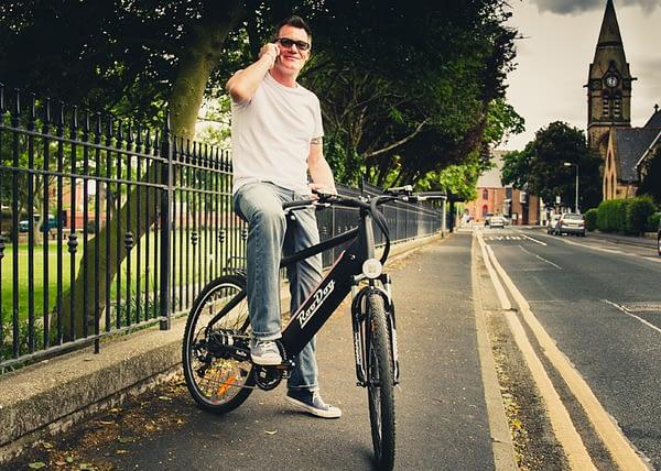 Avatar e-bike lifestyle shot