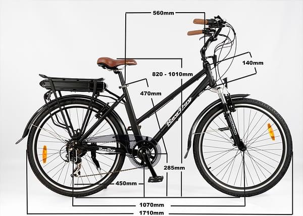 Mayfair bike measurements